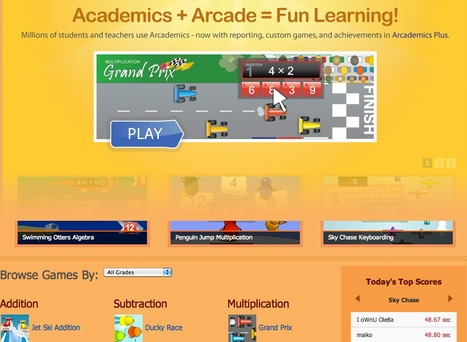 Arcademic Skill Builders | ICT4EFL | Scoop.it