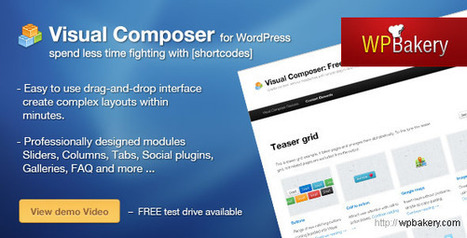 Visual Composer v3.6.4 for WordPress - Download Free Nulled Scripts | LIFESTYLE | Scoop.it