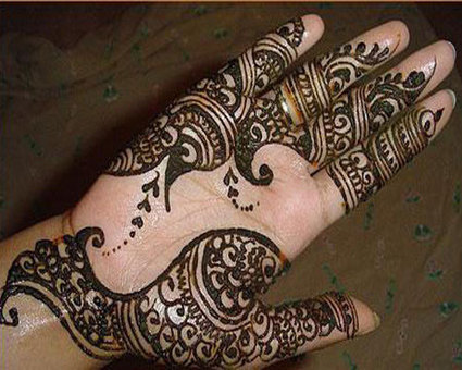 Simple Arabic Mehndi Designs For Hands | Beautiful Mehndi Designs and Jewellery Collection | Scoop.it