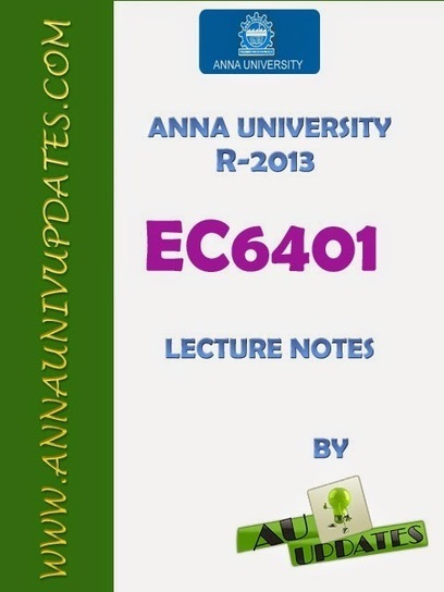 EC6401 Electronic Circuits II 2 Lecture Notes and Question Bank - 2 mark with answers ~ Anna University Nov Dec 2014 Results- Auupdates | Anna UNiversity Updates | Scoop.it