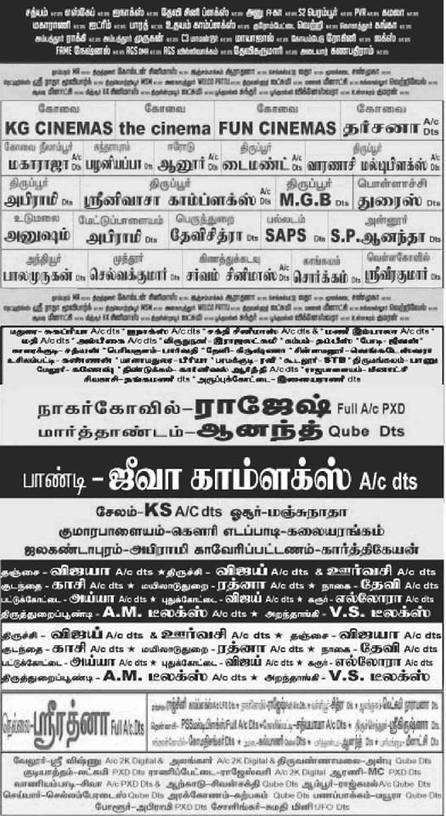 Katham Katham movie Chennai theaters list   Tamil Nadu   kollywood   Scoop.it