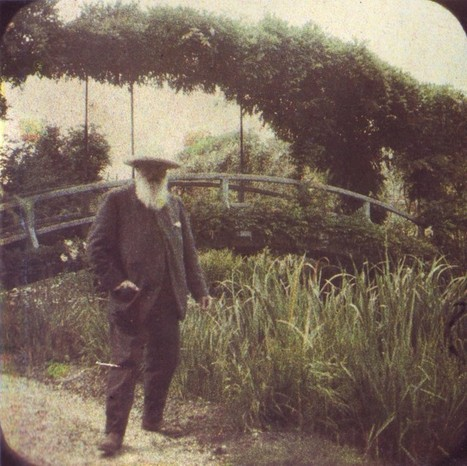 [Mystère #87] Claude Monet dans son jardin | Les impressionnistes | Scoop.it