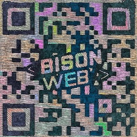 QRdesign Bison Web | artcode | Scoop.it