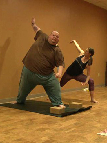 650-Lb. Man Discovers Yoga and Begins His Weight-Loss Journey - People Magazine | Weight Loss News | Scoop.it