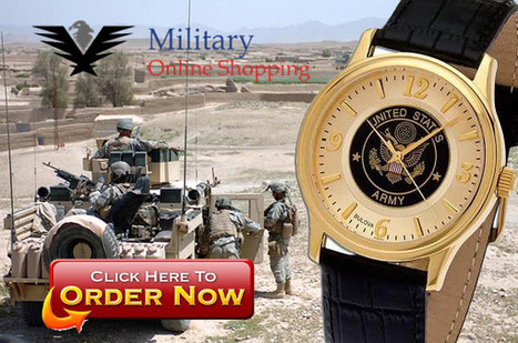 Army Watches - Military Watches - Military Online Shopping | Military Wives | Scoop.it
