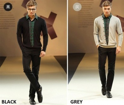 Preppy 2-in-1 Checked Shirt and Sweater from ikOala Shopping Deals | Daily Deals Online | Scoop.it