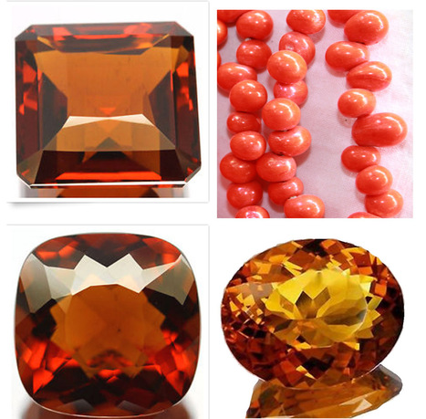 Jewels of Sayuri: Gemstones in Color - Orange | Blarney_Stone Antiques and Collectibles | Scoop.it