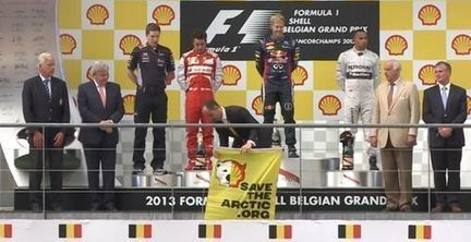 Grand Prix F1 de Belgique : Shell en pole position pour un bad buzz ? | Entrepreneurs du Web | Scoop.it