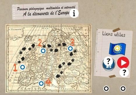 La découverte de l'Europe - Parcours pédagogique interactif by Catherine Ricoul | Langues, TICE & pédagogie | Scoop.it