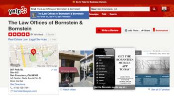 Client testimonials for Bornstein & Bornstein - Yelp | Bornstein  Law + BPG Insights | Scoop.it
