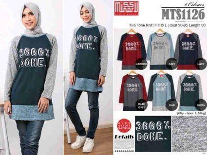 Pusat Grosir Baju Wanita | Grosir Baju Hijab MTS1126 | Grosir Produsen Konveksi Baju Wanita | Scoop.it