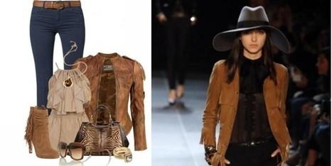 Un inverno in stile Country Chic con tanto di motivo tigrato | Moda Donna - sfilate.it | Scoop.it