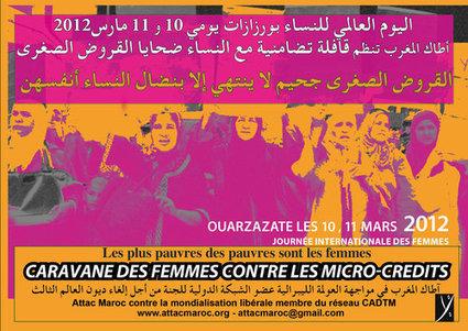 Maroc. Les femmes se mobilisent contre les micro-crédits   Occupy Belgium   Scoop.it