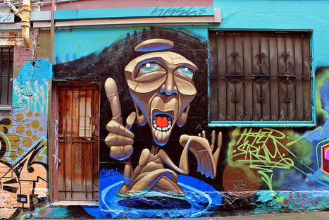 ghost - looking to the heavens | Street Art and Street Artists | Scoop.it