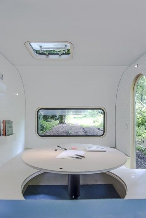 FIVE AM transforme une caravane en un espace de travail évolutif - Les Hommes Modernes | Tiers-Lieux et synergies | Scoop.it