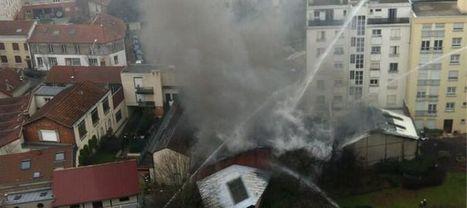 Spectaculaire incendie à Vanves (FR-92) | Toxique, soyons vigilant ! | Scoop.it