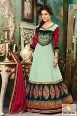 Sraddha Kapoor Anarkali Salwar Suit   Pavitraa   Scoop.it