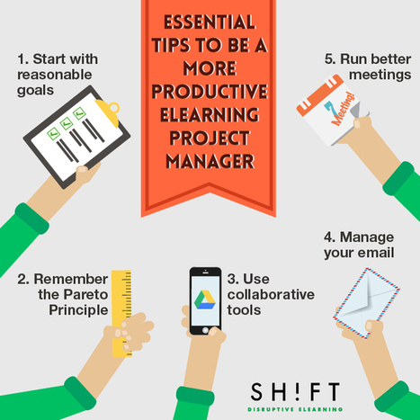 The Productive eLearning Project Manager Infographic | e-Learning Infographics | eLearning Project Management | Scoop.it