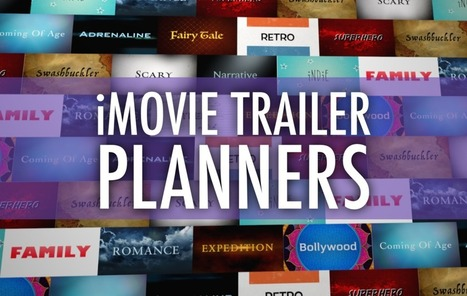 Plan a Better iMovie Trailer with These PDFs - Learning in Hand | Meet Them Where They Are: Using The Student's Technology To Teach | Scoop.it