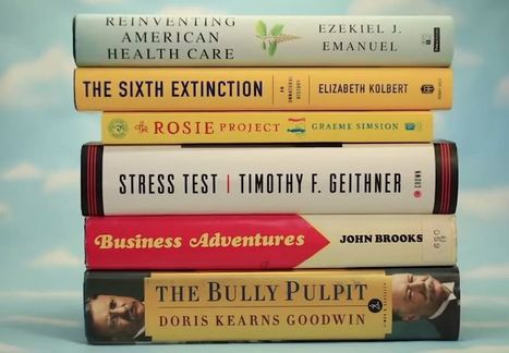 Do you want to read the same books Bill Gates is reading? | Leadership and Management | Scoop.it