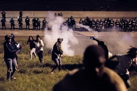 Anger Simmers in Charlotte as 2 Narratives of Police Shooting Take Hold | Native view | Scoop.it