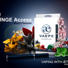 NEW LOUNGE ACCESS, MIXED FLAVORS FROM VAEPE