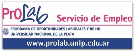PROLAB - Servicio de Empleo | PROLAB UNLP | Scoop.it