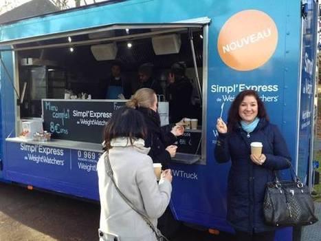 Weight Watchers lance son Simpl'Express avec un food truck | streetmarketing | Scoop.it