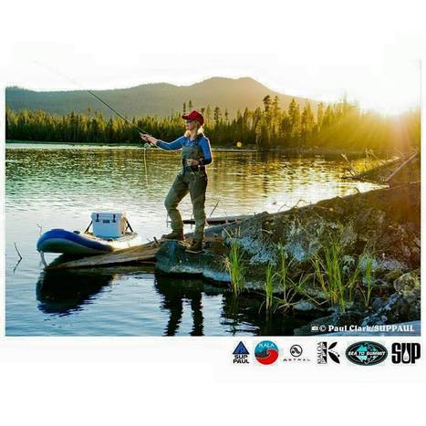 HOOKED ON SUP FLY FISHING | Lee | Scoop.it