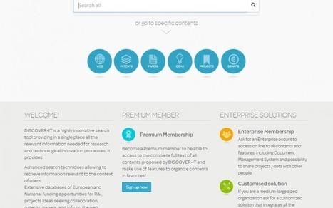DISCOVER-IT: un supporto ai processi di innovazione delle aziende - Data manager online | Innovazione & Impresa | Scoop.it