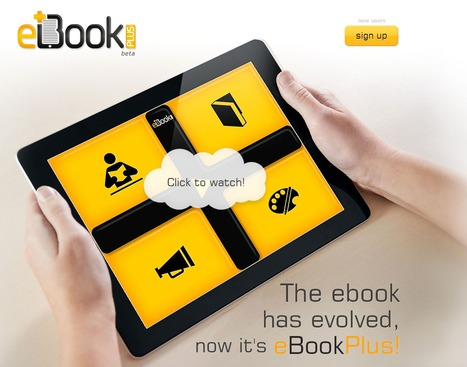 The ebook has evolved, now it's eBookPlus! | Time to Learn | Scoop.it
