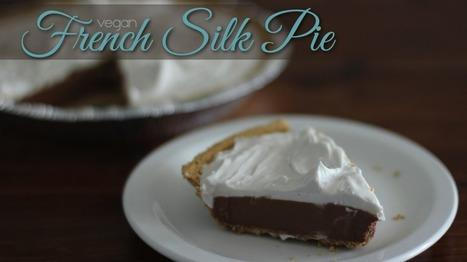 Vegan French Silk Pie | My Vegan recipes | Scoop.it