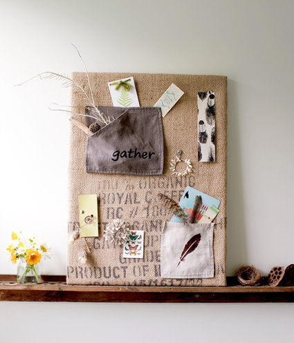 diy project: recycled inspiration board from maya donenfeld | Design*Sponge | Make stuff | Scoop.it