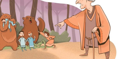 When Bible Stories Are Illustrated, They Reveal Some Huge Problems | Soul & Spirituality | Scoop.it
