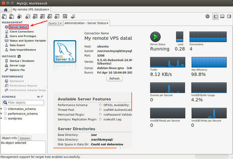 How to manage remote MySQL databases on Linux VPS using a GUI tool - Xmodulo | 3n4d-tut | Scoop.it