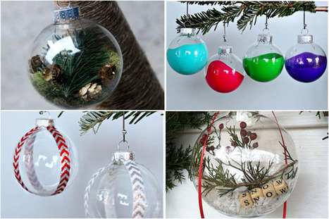 Original Hand-Made Decor Ideas for Christmas Decorations | Inspired By Design | Scoop.it
