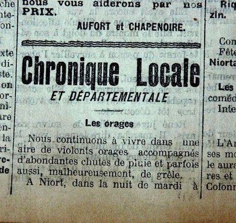 Nouvelle République : Il y a des sécheresses et la sécheresse de 1921 - environnement | GenealoNet | Scoop.it