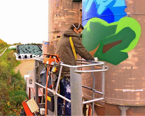 Street-Art Aktion: Graffitis zum Thema Milch - Bildergalerie   agrar   Scoop.it