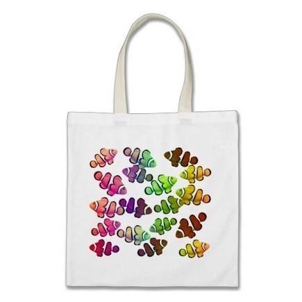 Coral Reef Clownfish Bag from Zazzle.com | Messenger Bags, Purses & Totes | Scoop.it