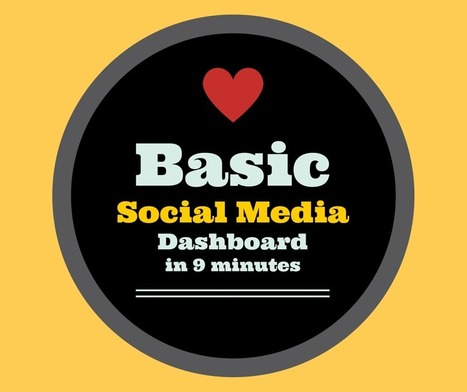 Build This Basic Social Media Dashboard In 9 Minutes | Internet Marketing For Small Businesses | Scoop.it