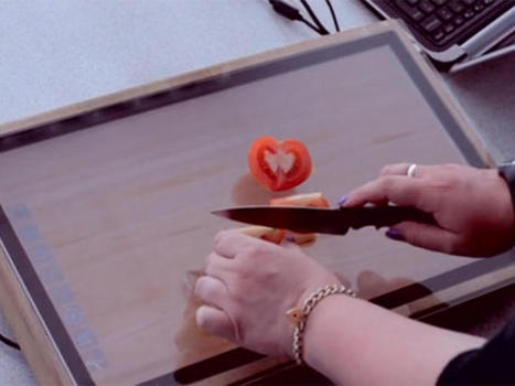 Sharp puts a touch screen in a chopping board - CNET | Touch it | Scoop.it