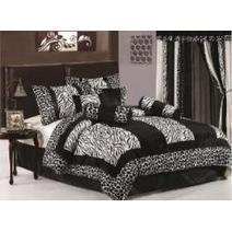 Zebra Themed Bedroom Ideas : Zebra Print Bedding & Bedroom Decor | Bedroom Decorating Ideas and Bedding Ideas | Scoop.it