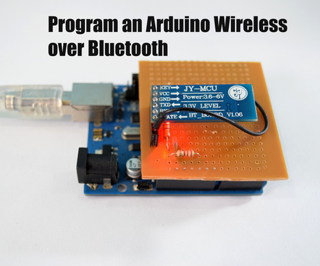Program an Arduino Wireless over Bluetooth | Raspberry Pi | Scoop.it