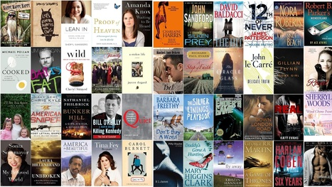 NY Times Best Seller Lists:NON-Fiction/Fiction May 26 2013-P2P ... | Brenda's Whims | Scoop.it