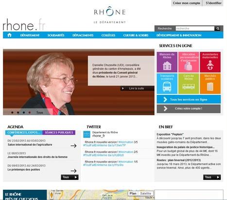 Readspeaker donne de la voix au nouveau site du Département du Rhône | Astuces numériques des pros du tourisme du Rhône | Scoop.it