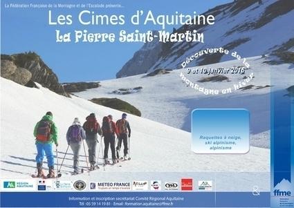Cimes d'Aquitaine Hivernales 2016   vue sur les Pyrenees   Scoop.it