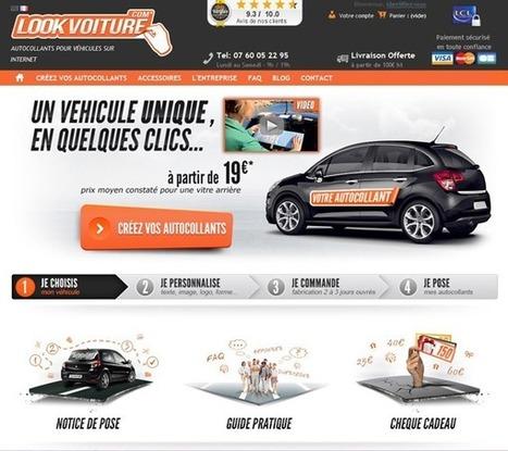Avec Lookvoiture, c'est le client qui créé le produit ! | Actualité de l'E-COMMERCE et du M-COMMERCE | Scoop.it