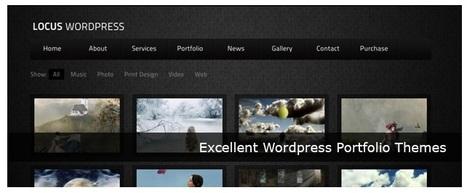 55+ Excellent Wordpress Portfolio Themes - tripwire magazine - StumbleUpon | Aplicaciones y Herramientas . Software de Diseño | Scoop.it