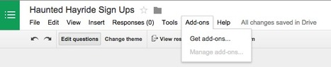 Google Drive Blog: Add-ons for Forms bring a little something extra to your surveys | Time to Learn | Scoop.it