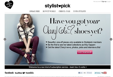 Le site londonien Stylistpick lève 8,3 millions d'euros | Web Marketing Magazine | Scoop.it